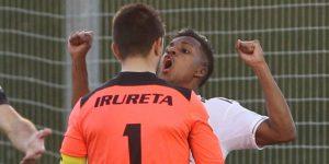 Rodrygo, expulsado con el Castilla, no podrá jugar contra el Barcelona
