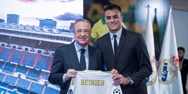 """Reinier: """"Quiero ser parte de la historia de este gran club"""""""