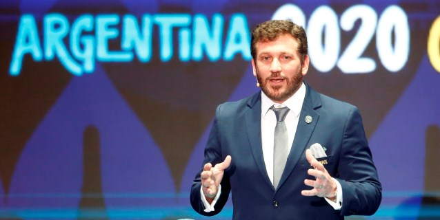 """Alejandro Domínguez: """"Suramérica tiene que ser protagonista en Catar 2022"""""""