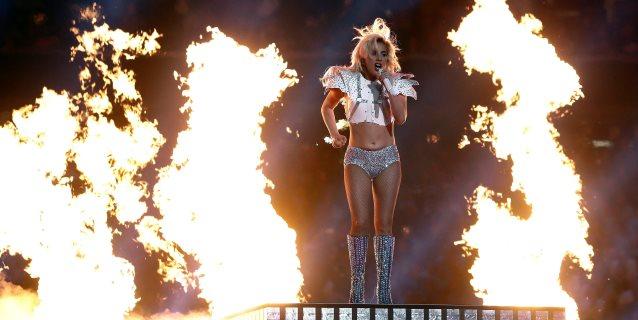 """Lady Gaga espera no escuchar un """"playback"""" en el espectáculo del Super Bowl"""