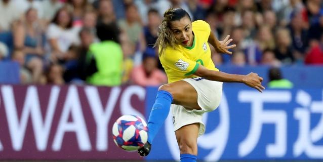 Marta y la novata Jucinara, en la lista de Brasil para el torneo en Francia