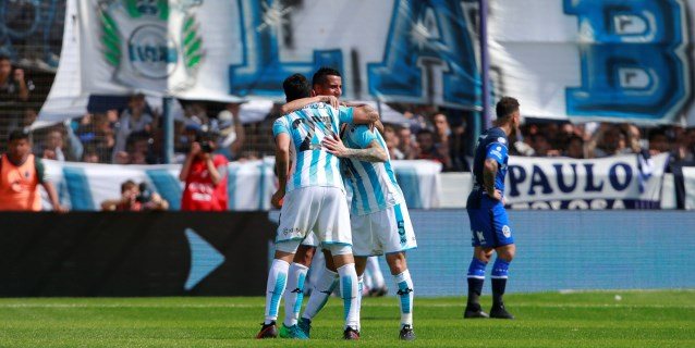 El chileno Díaz le da una histórica victoria a Racing Club ante Independiente