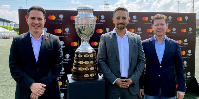 Mastercard renueva patrocinio de la Copa América e incluye el torneo femenino