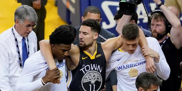 NBA: El escolta Klay Thompson no jugará esta temporada con los Warriors