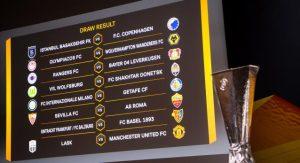 Inter-Getafe y Sevilla-Roma, en octavos de final de la Liga Europa