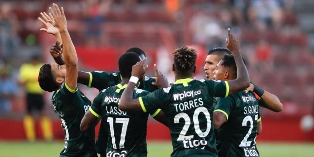 El Nacional colombiano empata con Huracán y se confirma en la segunda fase de la Sudamericana