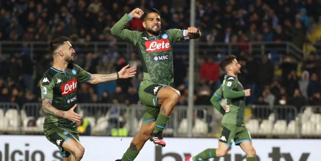 1-2. Insigne y Fabián acercan al Nápoles a Europa y ya apuntan al Barcelona