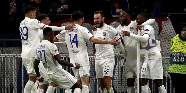 1-0. El Lyon da el primer zarpazo