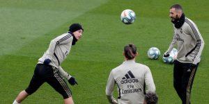El Real Madrid cierra la preparación del clásico sin Hazard ni Asensio