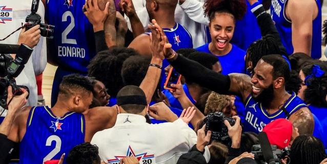 NBA: 157-155. Davis da el triunfo al Equipo de LeBron y Leonard gana el premio MVP