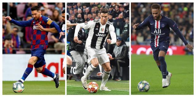 Messi repite como jugador con más ingresos, por delante de Ronaldo y Neymar