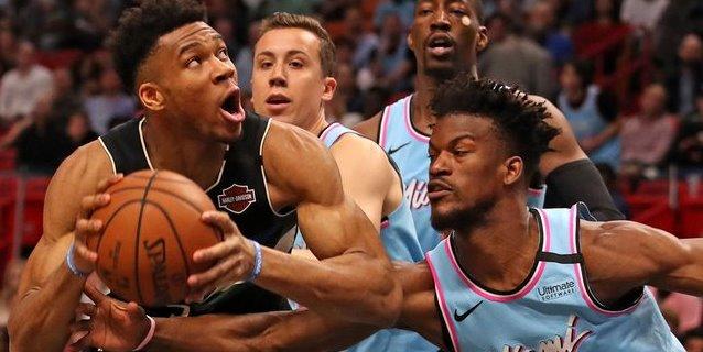 NBA: 105-89. La defensa de los Heat anula a Antetokounmpo y vencen a los Bucks