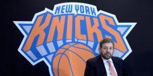 NBA: Dolan, dueño de los Knicks y Rangers, da positivo al coronavirus