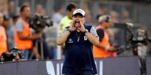 Maradona apoya la suspensión del fútbol argentino hasta el 31 de marzo