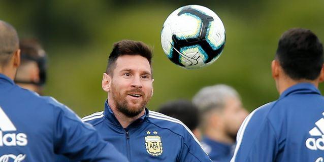 Messi lidera la lista de Argentina para las eliminatorias a Catar 2022