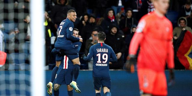 Mbappe atropella al Dijon