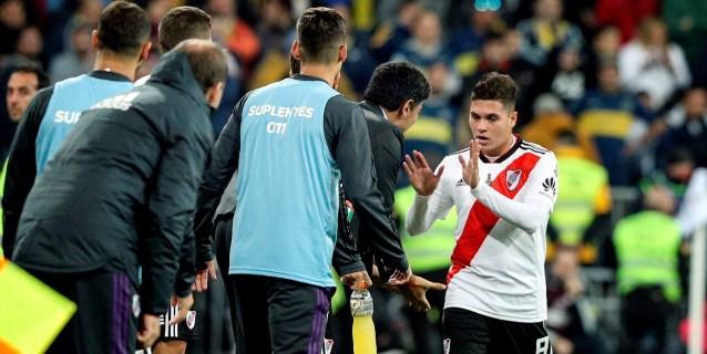 El colombiano Quintero deja a River Plate a un paso del título