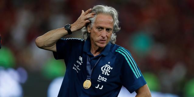 Tercera prueba descarta que el técnico del Flamengo haya contraído el coronavirus