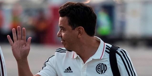 Gallardo se ausenta del entrenamiento de River Plate en Argentina por anginas