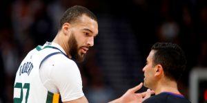 La NBA suspende la temporada por coronavirus del jugador francés Rudy Gobert