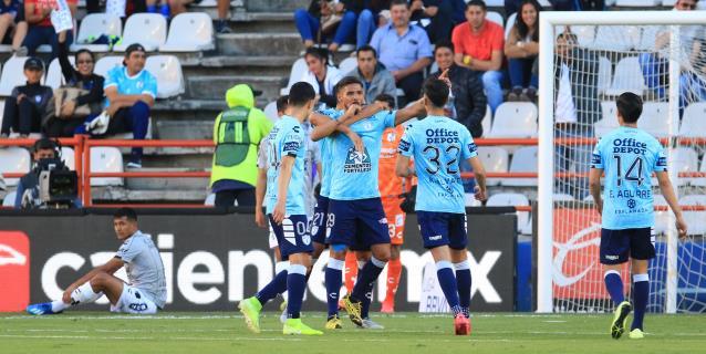 1-1. El ghanés Aboagye rescata empate del Querétaro en contra del Pachuca