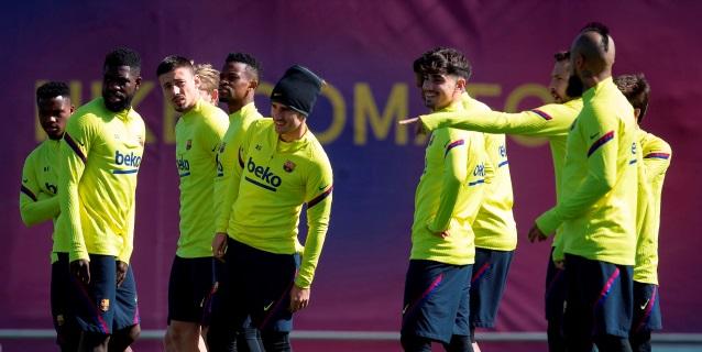 El Barça suspende los entrenamientos hasta nueva orden