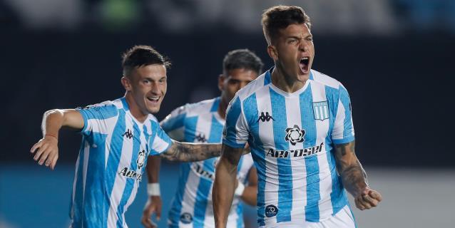 1-0. Racing Club derrotó a Alianza Lima y se consolida como líder