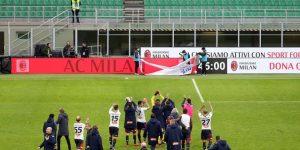 Cae el Milan y celebran Génova y Sampdoria en estadios cerrados por el virus
