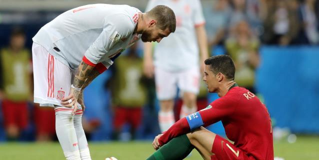A 100 días de la Eurocopa, la UEFA destaca a centenarios como Ramos y Cristiano