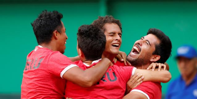 Histórica clasificación de Perú al grupo mundial de la Davis al vencer a Suiza