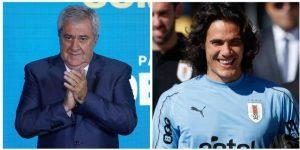 El presidente de Boca Juniors descarta el fichaje de Cavani por temas económicos