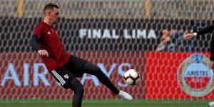 Franco Armani confía en que podrá retirarse en el Atlético Nacional