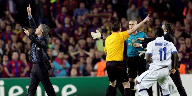 28-4-2010. Cuando Mou sublimó el catenaccio y fue el villano en el Camp Nou