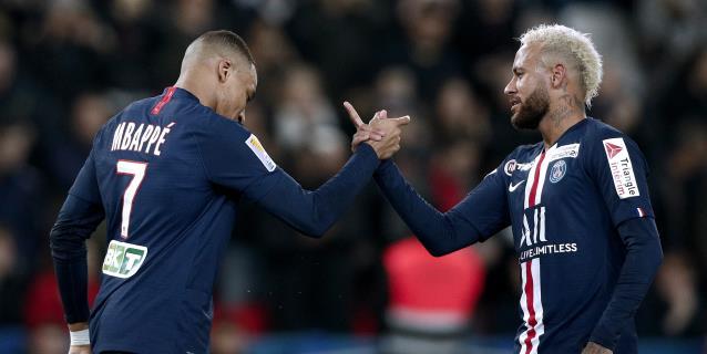 """""""L'Équipe"""": La COVID-19 cierra la puertas de salida de Mbappé y Neymar"""