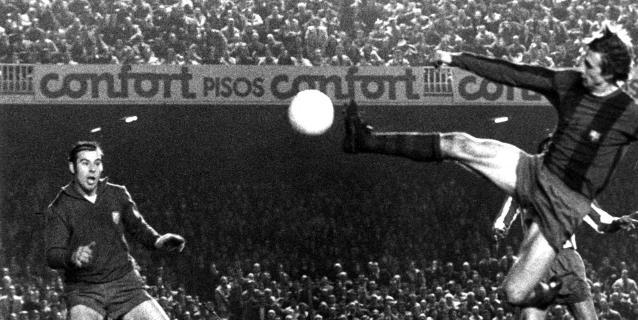 Se cumplen 46 años de la Liga de Johan Cruyff
