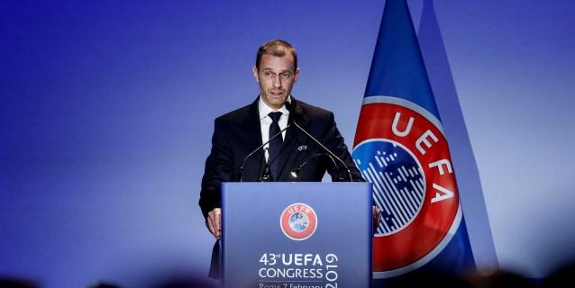 Ceferin amenaza con echar a Bélgica de las competiciones europeas