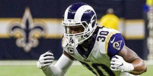 NFL: Los Falcons confían en completar el acuerdo con Gurley