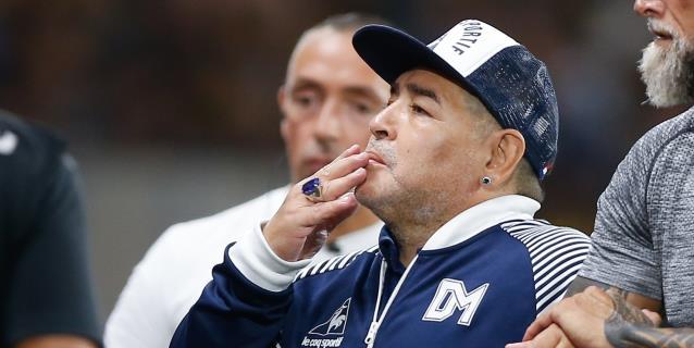 """Maradona afirma que la suspensión de los descensos en la AFA es """"una nueva mano de Dios"""""""