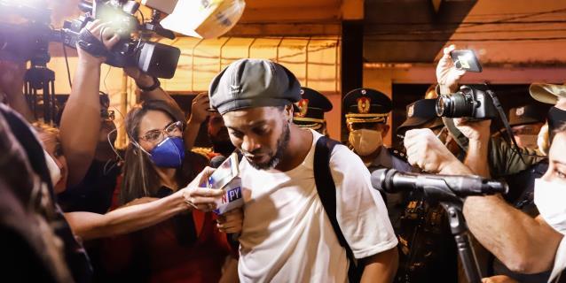 Ronaldinho: cuando supe que iba a ir a prisión fue un golpe duro