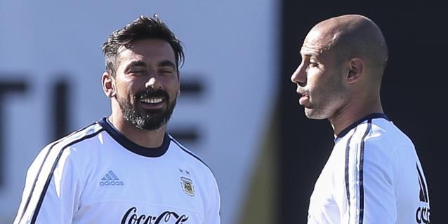 "Lavezzi revela que Mascherano le dijo ""gordo"" y lo ""encarriló"" en Brasil 2014"