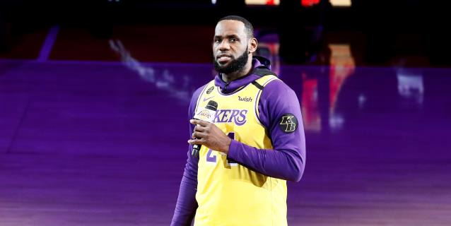 NBA: James admite, con frustración, posibilidad que no se reanude la temporada