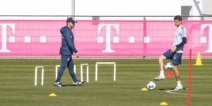 Planes para reiniciar la Bundesliga con 300 personas en cada estadio
