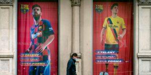 Un mes sin fútbol en el Camp Nou. Un mes sin los goles de Messi