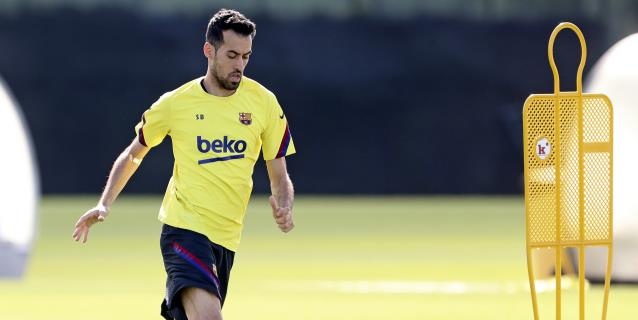 El Barcelona vuelve a los entrenamientos tras un día libre