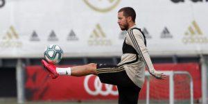 Hazard y Asensio vuelven a las órdenes de Zidane