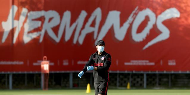 El Atlético regresa a los entrenamientos individuales casi dos meses después