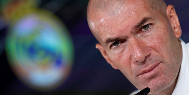 Zidane aumenta los ejercicios con balón en el quinto entrenamiento