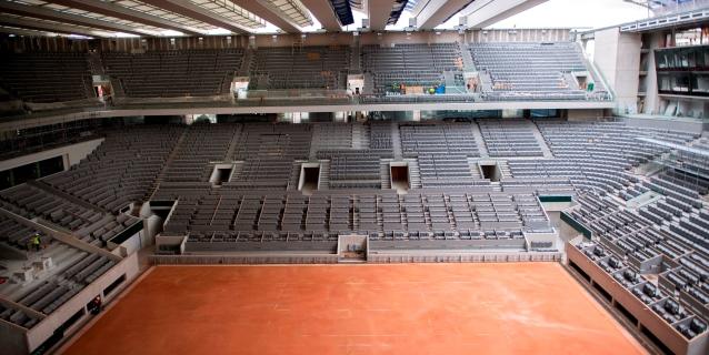 TENIS: La FFT no descarta que el Roland Garros se juegue a puerta cerrada