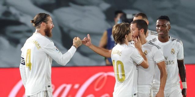 El Real Madrid, líder post-coronavirus con Real Sociedad y Getafe a la baja