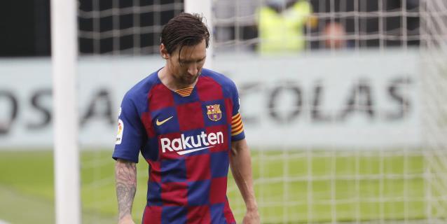 El Barcelona se marchita